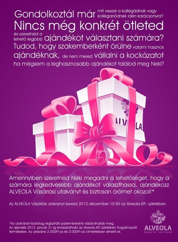 Ajándékozz ALVEOLA Vásárlási utalványt kollégáidnak! 0a8cb32fe6