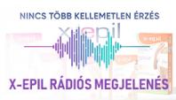 X-Epil rádiós megjelenés